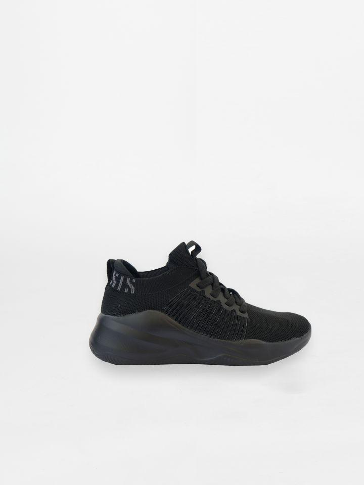 נעלי ספורט מנוכרמטיות במראה סרוג