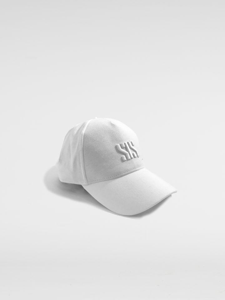 כובע עם רקמת לוגו SIS